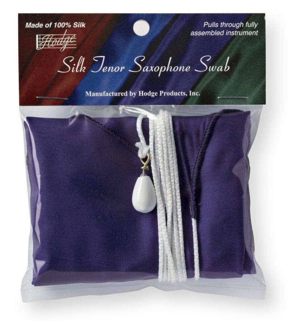 Hodge Silk Tenor Saxophone Swab, Purple