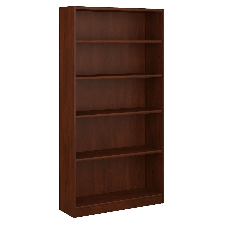 Bush Furniture Universal 5 Shelf Bookcase in Classic Black Bush Industries--DROPSHIP WL12436-03