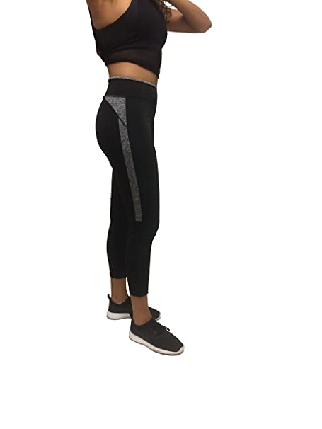 Amazon.com: Stay Dry Basics Leggings de yoga para mujer, S ...