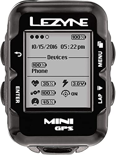LEZYNE Mini Cycling GPS Computer