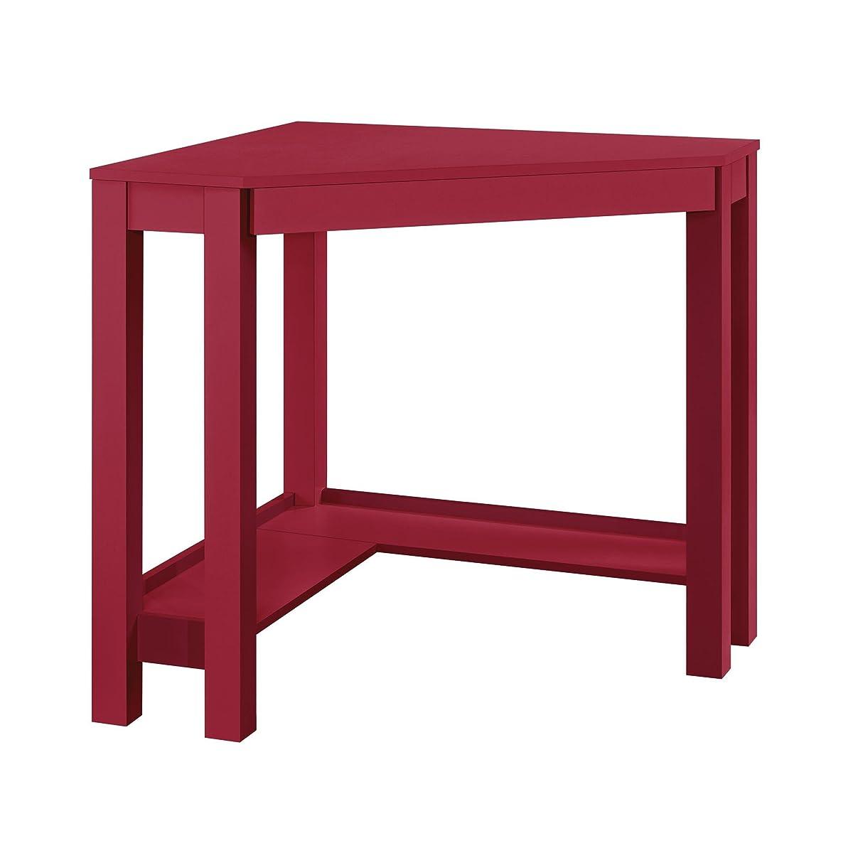 Altra Furniture Parsons Corner Desk, Red