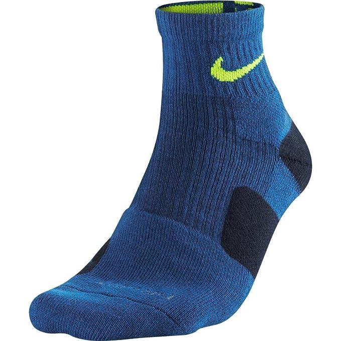 Nike Mens Elite calcetines de baloncesto, justo por encima del ...