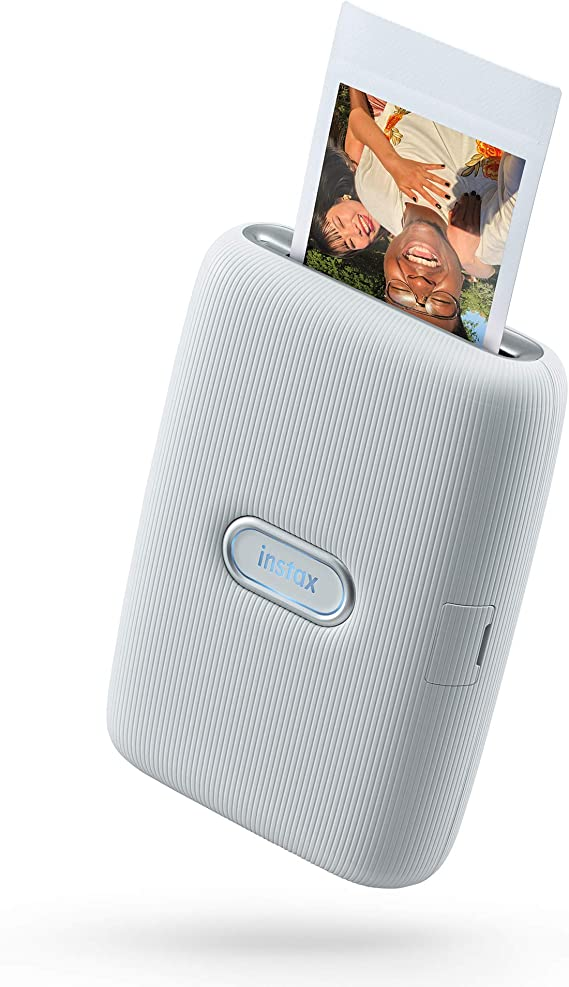 Instax Link Smartphone Printer Bundle, Color Blanco Ceniza: Amazon ...