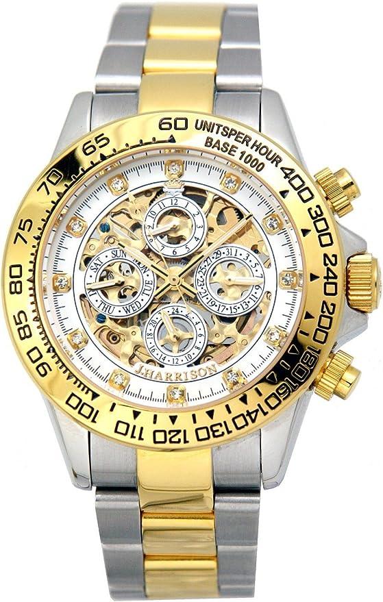 [ジョンハリソン] 腕時計 JH-003GW ゴールド