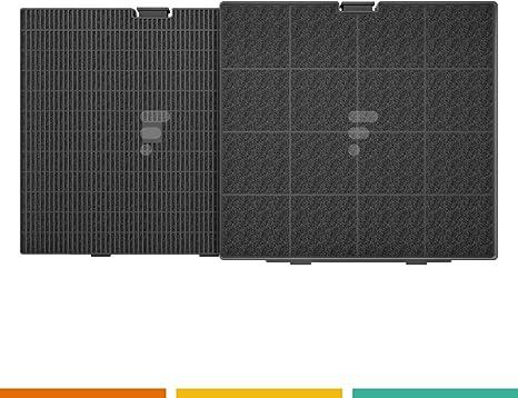 FAC – Filtro de carbón fc25fac FC25 – Filtro de carbón 241 x 225 x 30 Compatible campana Wpro chf007 – Typ.d241 Arthur Martin Best AFC9003 W afc9003 X y Broan, Teka: Amazon.es: Grandes electrodomésticos