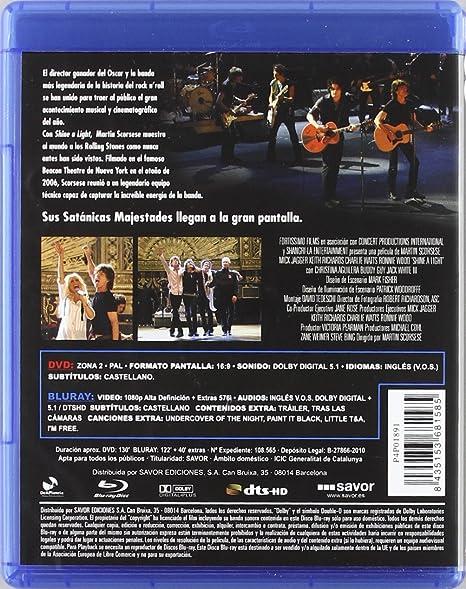 Shine a Light (combo dvd+br) [Blu-ray]: Amazon.es: Mick ...