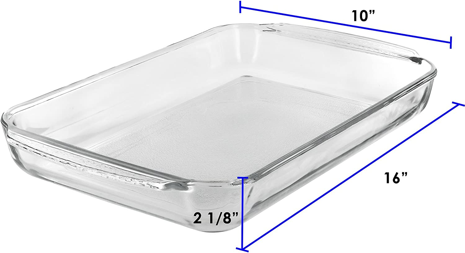 9 inches x13 Clear Libbey Glass Oblong Baking Dish