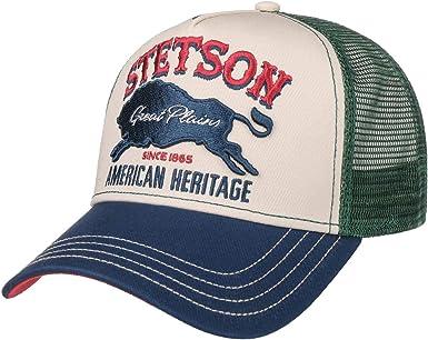 Stetson Gorra Trucker The Plains Hombre - de Beisbol Baseball ...