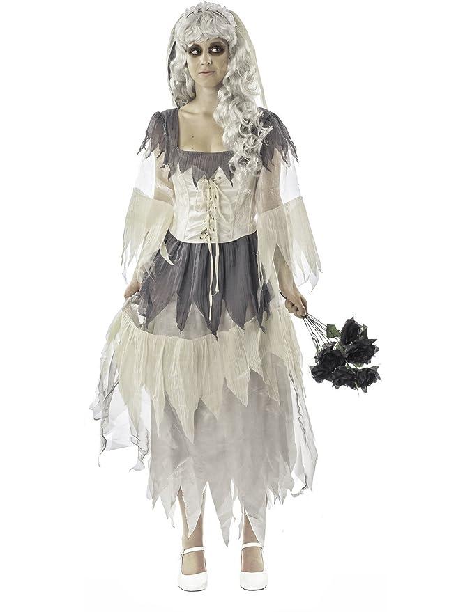 Amazon.com Orion Costumes Womens Miss Havisham Halloween Bride Fancy Dress Book Week Costume Grey Clothing  sc 1 st  Amazon.com & Amazon.com: Orion Costumes Womens Miss Havisham Halloween Bride ...