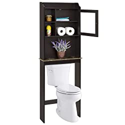 Best Choice Products Modern Over The Toilet Space Saver