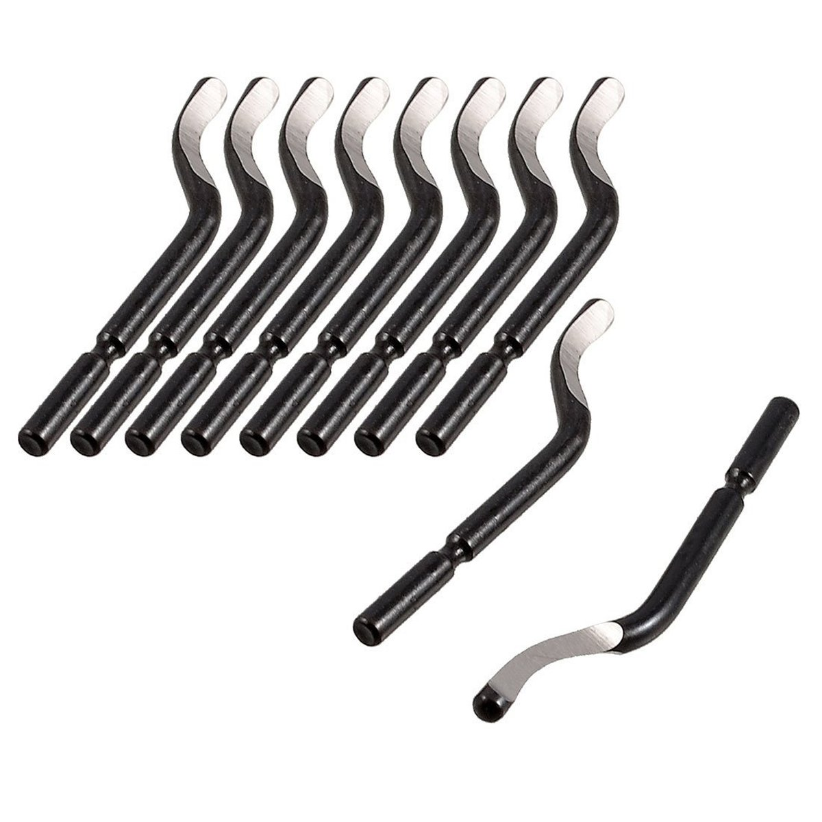10-Piece YXQ BS1010 S10 Repair Part Deburred Tool Deburring Blades