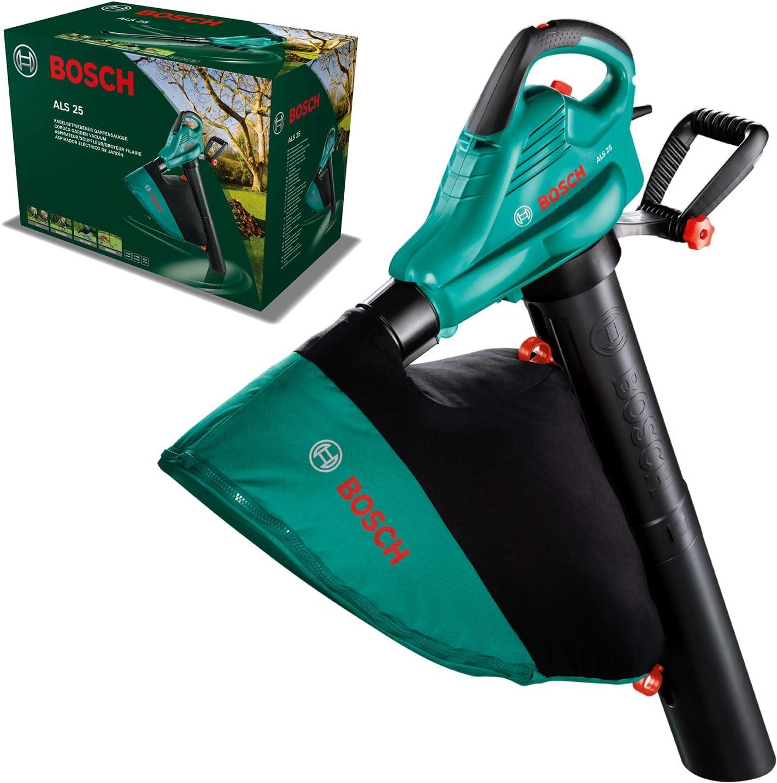 Bosch Home and Garden 06008A1100 Bosch ALS 30-Soplador y aspirador, bolsa colectora de 45 litros, correa, 3000 W, velocidad del caudal de aire: 280-300 km/h: Amazon.es: Bricolaje y herramientas