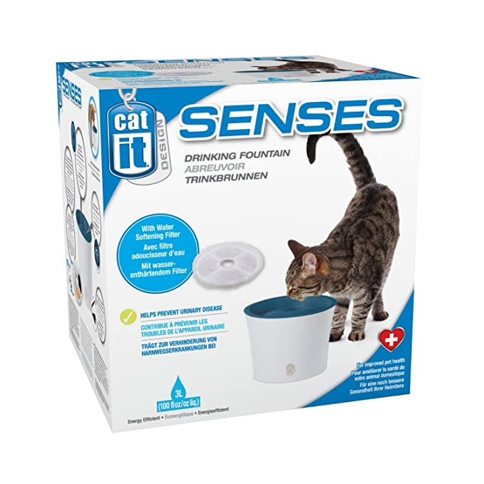 Dishes, Feeders & Fountains Pack Of 5 Catit Senses Water Fountain Triple Action Filters