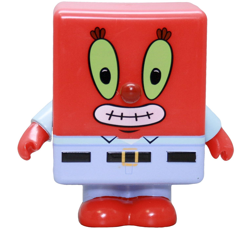 amazon com spongebob mr krabs collectible 3 vinyl figure toys