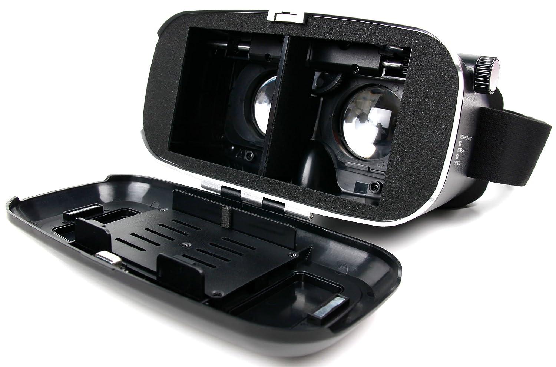 Blu Vivo X Huawei Mate SE // P20 Lite DURAGADGET Occhiali Realt/à Virtuale VR 3D per Cellulare DOOGEE X10 Ergo First B500 Panno Pulizia Alta qualit/à