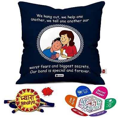 Indi ts Raksha bandhan Rakhi Gifts Hamper Designer