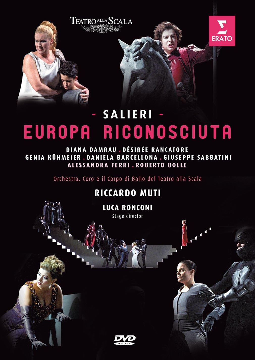 Salieri L Europa Riconosciuta Teatro Alla Scala Dvd 2017 Amazon  # Muebles Luis Nipoti
