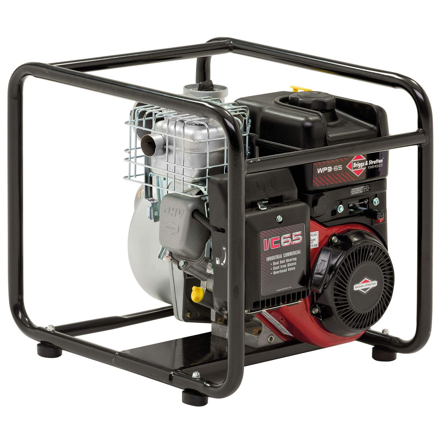 "Briggs and Stratton WP3-65 3""/76mm Elite Petrol Water Pump, 930 Litre/min, 8m Vertical Suction, INTEK I/C Engine, 073011"