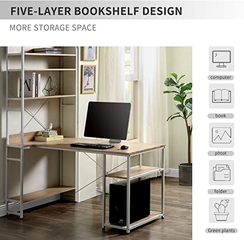 Goujxcy Computer Desk