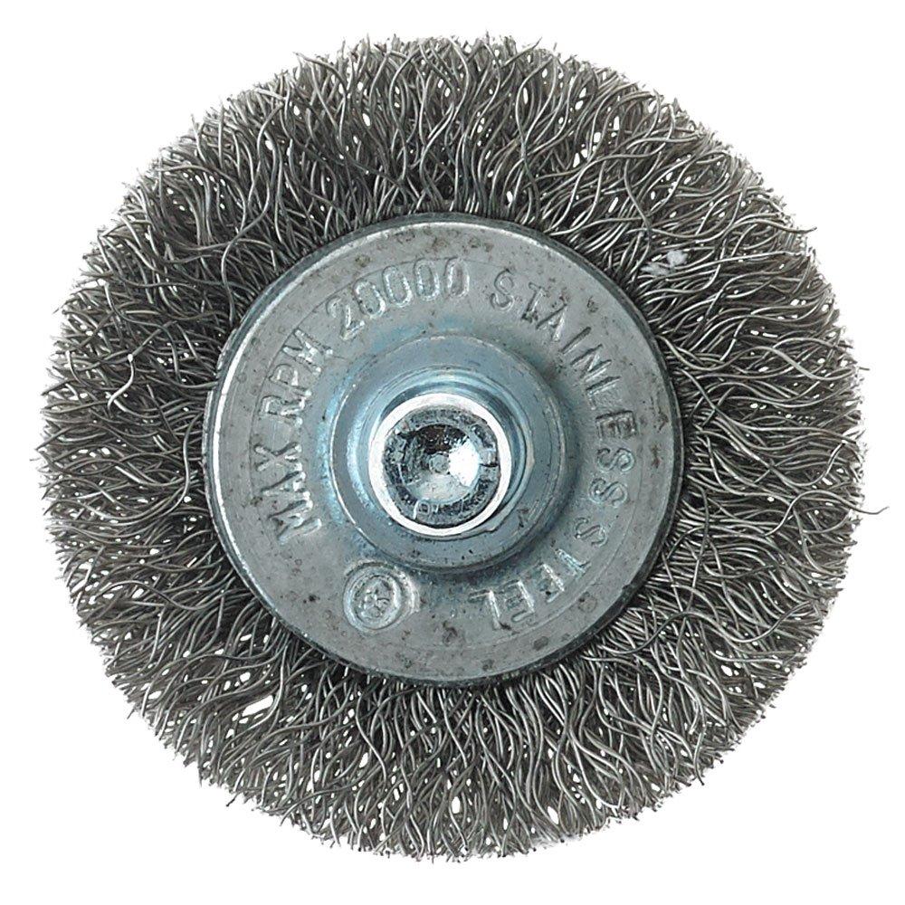 Mercer Industries 182010B Crimped Wire Wheel, 1-1/2\