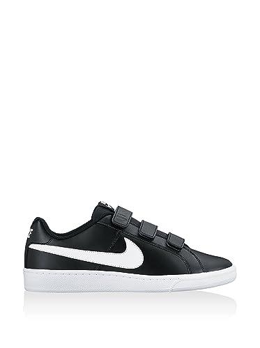 Nike 844798-010 Trainers, Man, Black (Black/White), 45