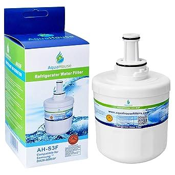 AquaHouse AH-S3F filtro de agua compatibles para Samsung nevera ...