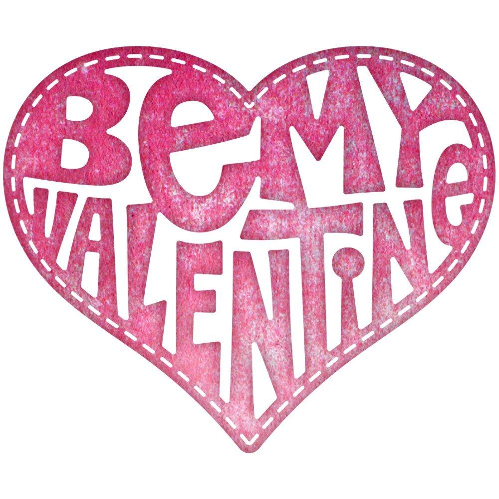 Cheery Lynn Designs B531 Be My Valentine Heart by Cheery Lynn Designs B01CN8JJLC