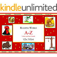 Alphabet A-Z Letters and their Sounds: English Literacy (Reading Works Book 11) (English Edition)