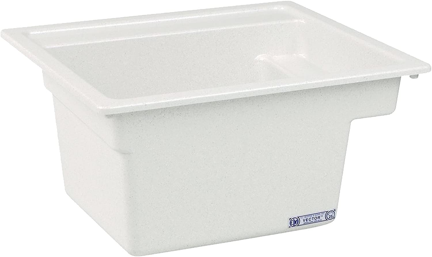 Mustee 25 Vector Multi Task Sink, 22-Inch x 25-Inch, White