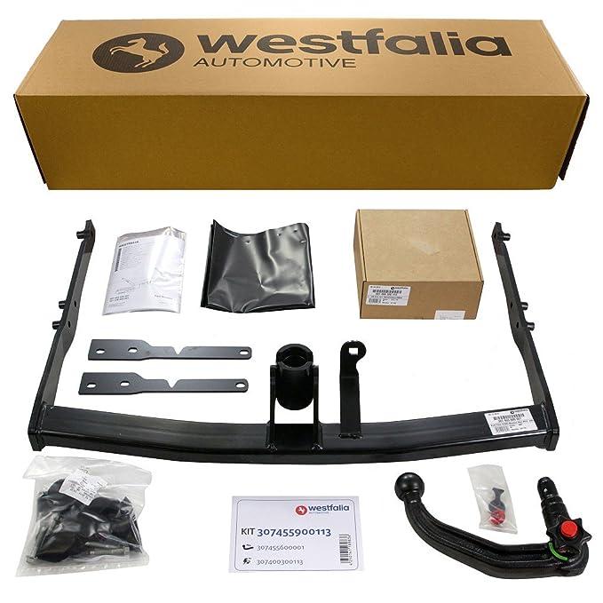 Westfalia 307455900113 - Enganche acoplable para remolque y cableado eléctrico especÃfico para vehÃculos: Amazon.es: Coche y moto