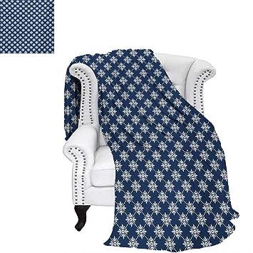 Amazon.com: cálfamily Indigo - Manta ligera, diseño ...