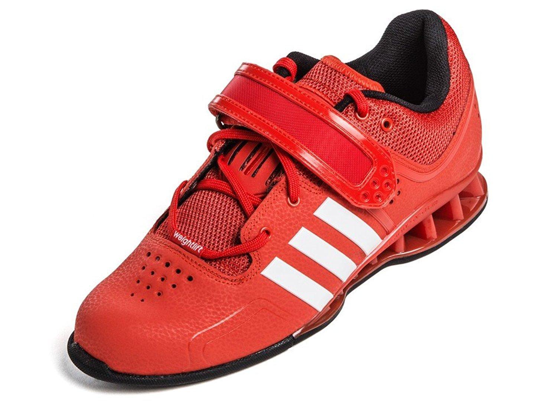 adidas Adipower Unisex-Erwachsene Hallenschuhe  48 2/3 EU|Rot
