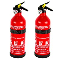 2x anaf extintor Auto extintor ABC polvo Incluye