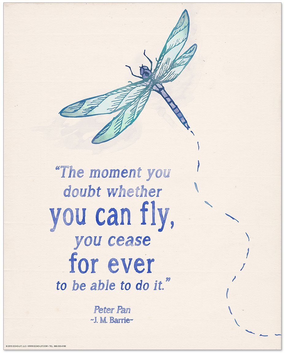 ECHO-LIT Children`s Literature Inspirational Quote Nine Poster Set for Home, Classroom or Library by ECHO-LIT (Image #9)