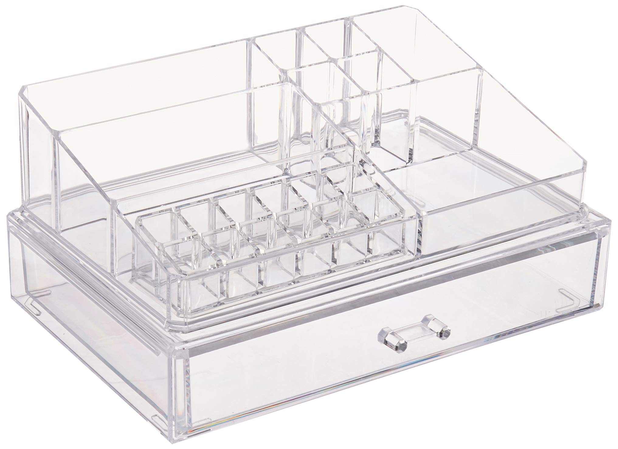 Richards Homewares 987881 Clear Acrylic Personal Organizer with XL Drawer