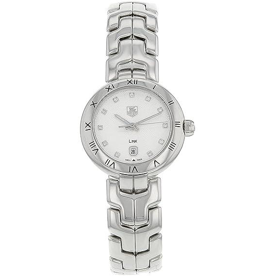 e5b22abe852 TAG Heuer Women s Link Diamond 29mm Swiss Quartz Analog Watch  WAT1411.BA0954  Amazon.ca  Watches