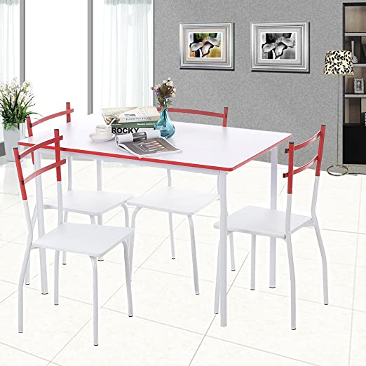 Kit Closet 701039001 - Insieme di tavolo da cucina + 4 sedie