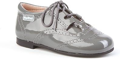 Zapatos Inglesitos Charol para Niños Todo Piel mod.1505. Calzado Infantil Made in Spain, Garantia de Calidad.: Amazon.es: Zapatos y complementos