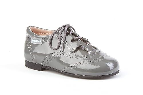 5ac2f0d8 Zapatos Inglesitos Charol para Niños Todo Piel mod.1505. Calzado Infantil  Made in Spain, Garantia de Calidad.: Amazon.es: Zapatos y complementos