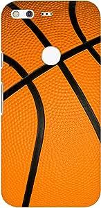 Stylizedd Google Pixel XL Slim Snap Basic Case Cover Matte Finish - Basketball
