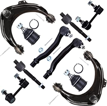 SCITOO 4pcs Suspension Kit 2 Upper 2 Lower Ball Joint Compatible fit 1998 1999 2000 2001 2002 Honda Accord 2001 2002 2003 Acura CL 1998 1999 2000 2001 2002 2003 Acura TL