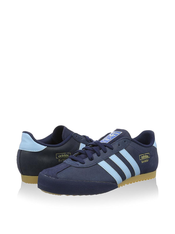 best service 33415 74464 adidas Sneaker Bamba Blu EU 40 2 3 (UK 7)  Amazon.it  Scarpe e borse
