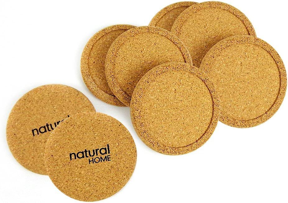 "Natural Home Products Wp17 3-3/4"" Cork Coaster Set 4 Count"