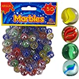 Cat's Eye Marbles, Glass Marbles, Comes in a bag, Protection against damage, Sports Toys & Outdoor By ARSUK