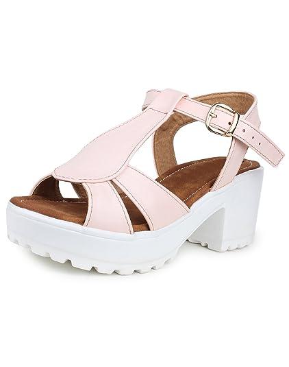 0ff8b471fe1 Do Bhai Sandal-Bebo Heels for Women (EU41