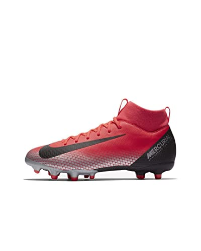 c390be683fa Amazon.com | Nike JR SFLY 6 Academy GS CR7 FG/MG Boys Soccer-Shoes ...
