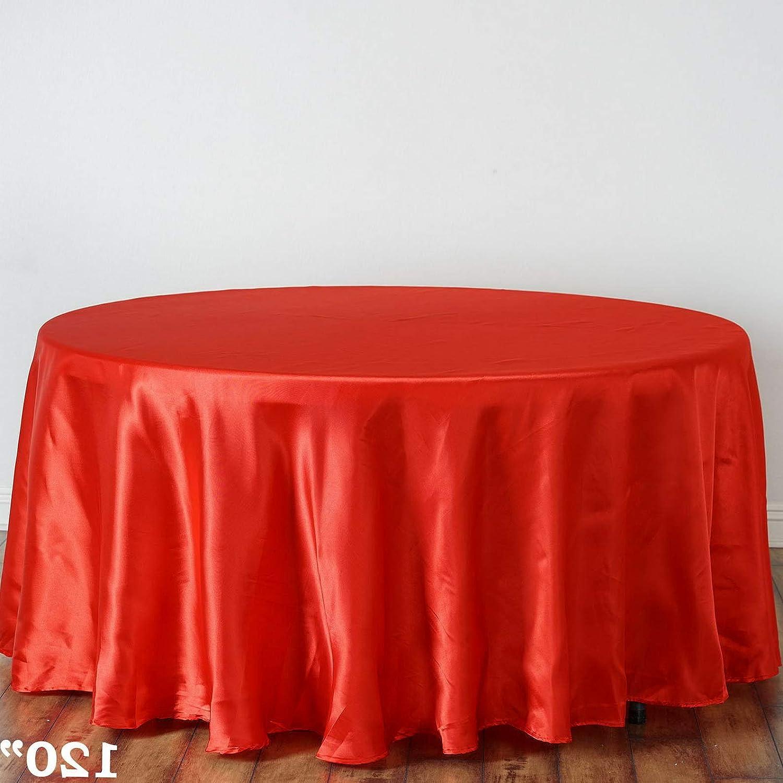 Mikash ラウンドサテンテーブルクロス ディナーウェディングパーティーリネン 装飾 卸売販売 モデルWDDNGDCRTN 7829 120インチ 15 pcs ホワイト childweddingdecoration-8626 15 pcs cl 17 B07RG7YK3S