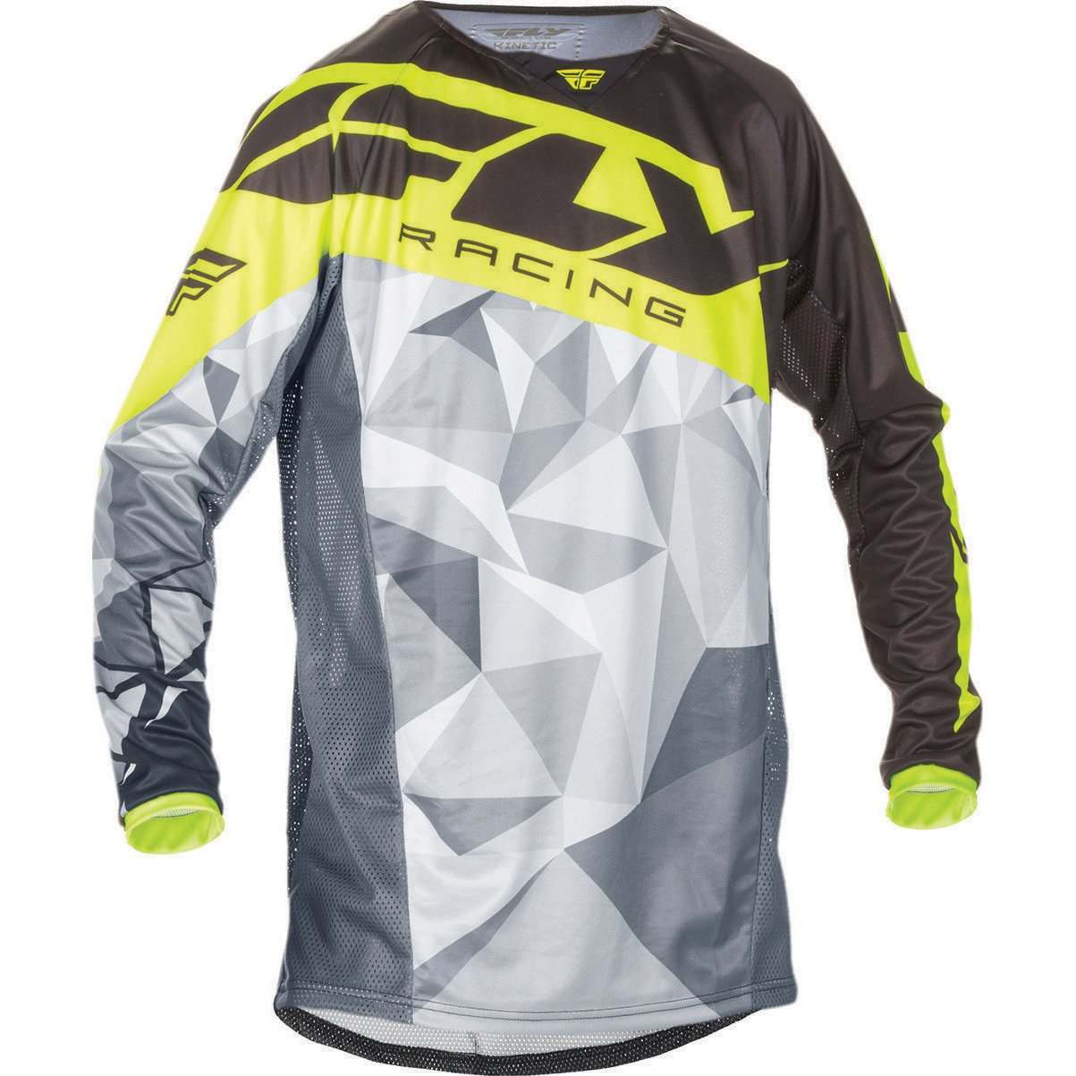 Gé né rique Fly Racing 2017 Kinetic Crux Youth Motocross Jersey