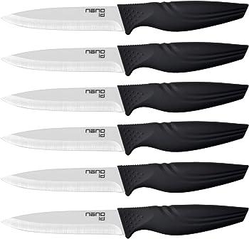Nano ID Steak Knives, Set of 6, Ceramic Knife