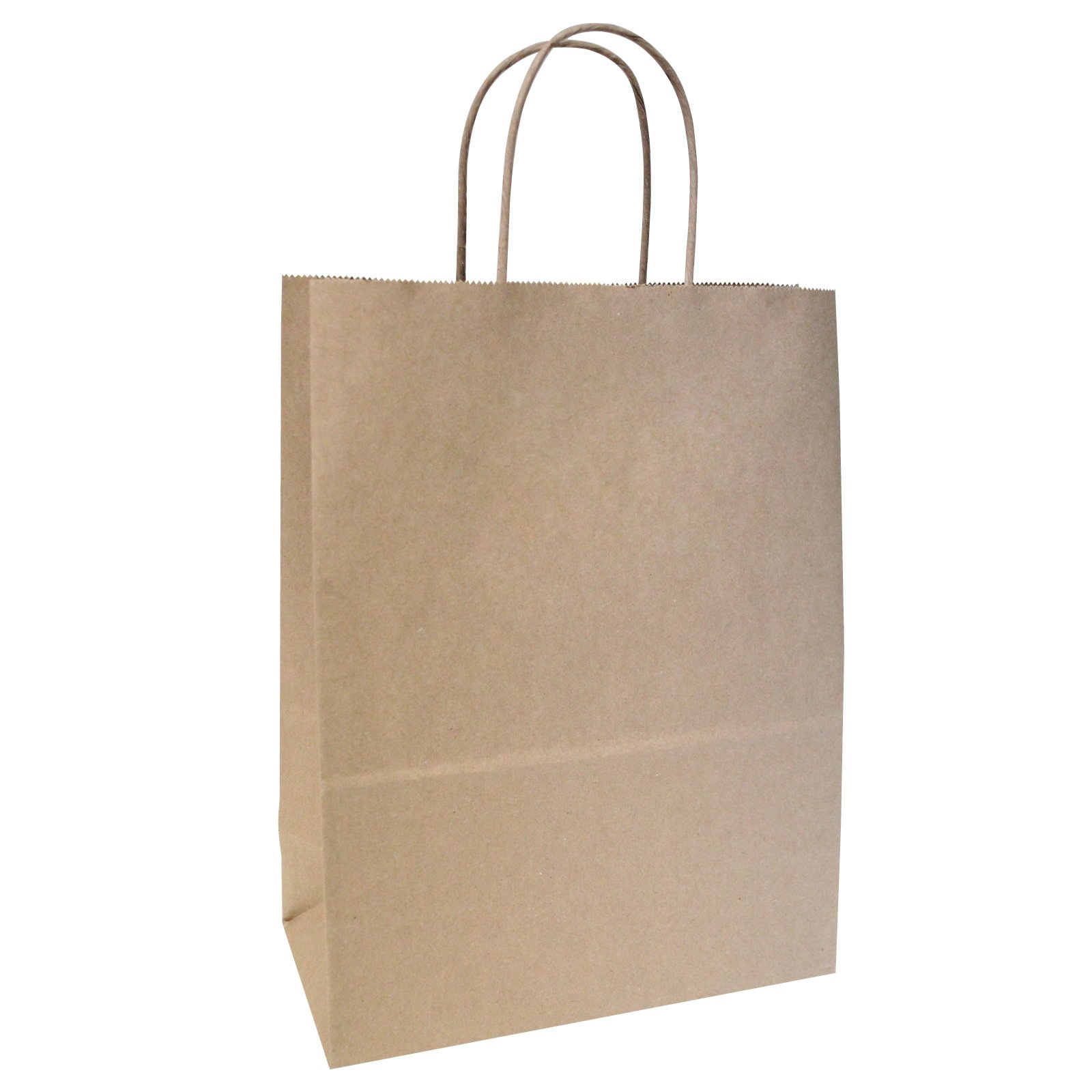 Flexicore Packaging Brown Kraft Paper Bags Size: 13 Inch X 7 Inch x 17 Inch | Count: 100 Bags | Color: Brown by Flexicore Packaging